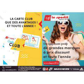 Carte Club Le Sportif