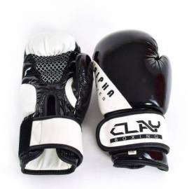 CLAY-ALPHA-GANTS DE BOXE ALPHA SERIES NOIR/BLANC-lesportifGANTS DE BOXE ALPHA SERIES NOIR/BLANC DERBY CLAY Boxe 89.80 DT -20%