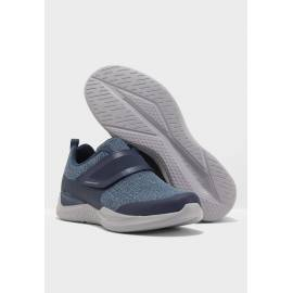 SP SKECHERS HOMME AIR-COOLED MEMORY FORM BLEU